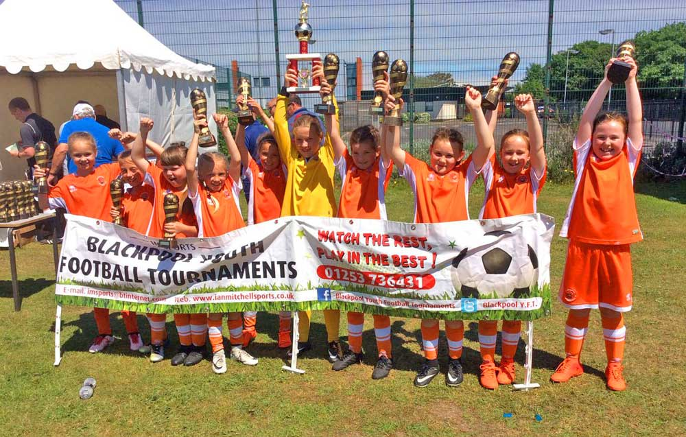 Blackpool Youth Football Tournaments winners
